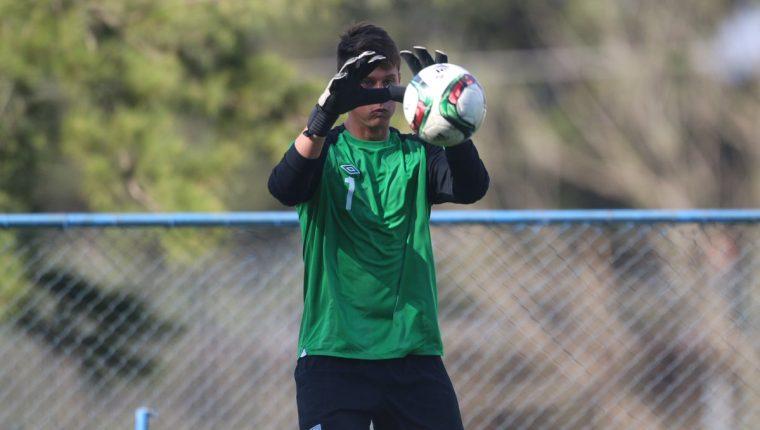 El portero Nicholas Hagen trabaja con la Selección Nacional en el Proyecto Goal.  (Foto Prensa Libre: Fedefut)
