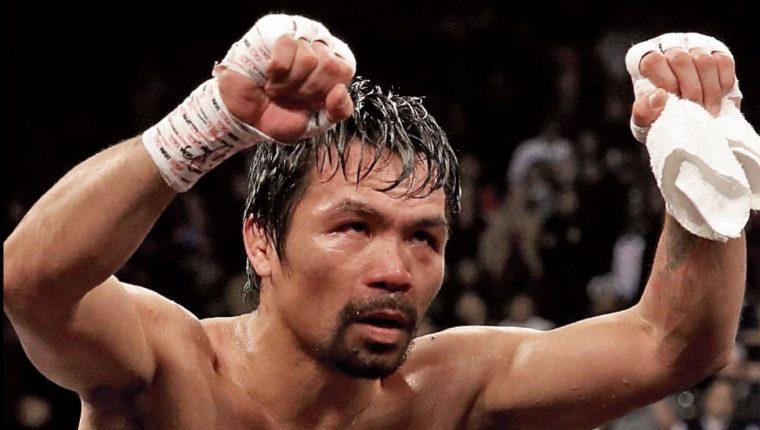 Manny Pacquiao no quiere que su hijo sea boxeador. (Foto Prensa Libre: Hemeroteca PL)