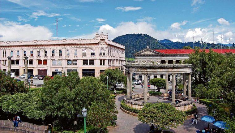 Potenciar el Centro Histórico de Xela es una de las propuestas necesarias para el desarrollo turístico. (Foto, Prensa Libre: Hemeroteca PL):