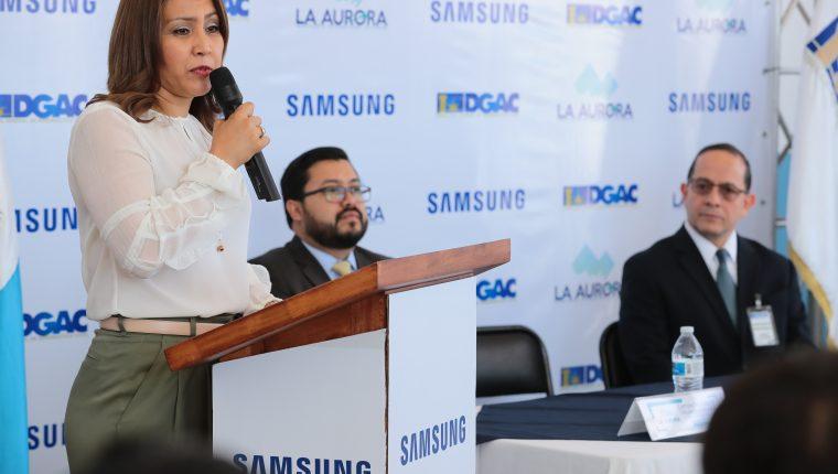 Patricia de Morales, esposa del presidente Jimmy Morales, dirige actualmente la Sosep. (Foto Prensa Libre: Hemeroteca PL)