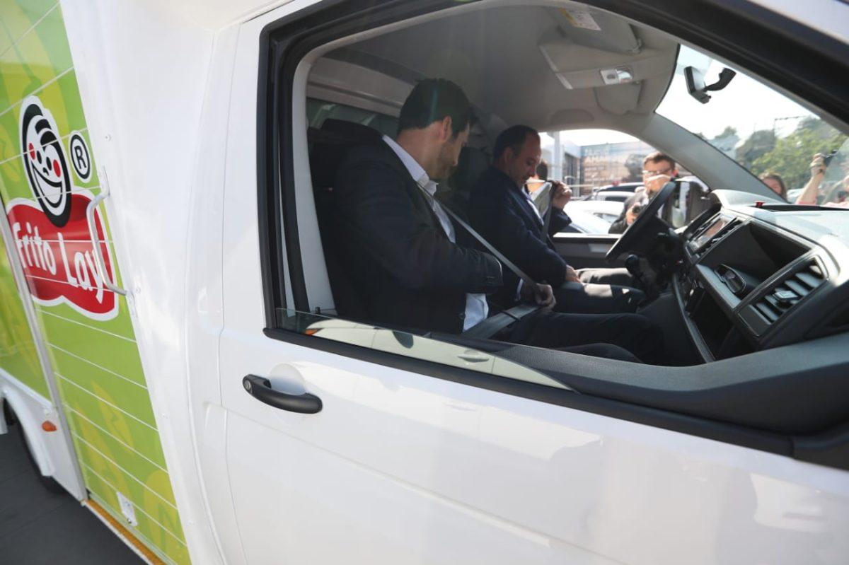 Vehículos híbridos se utilizarán para distribuir alimentos en Guatemala