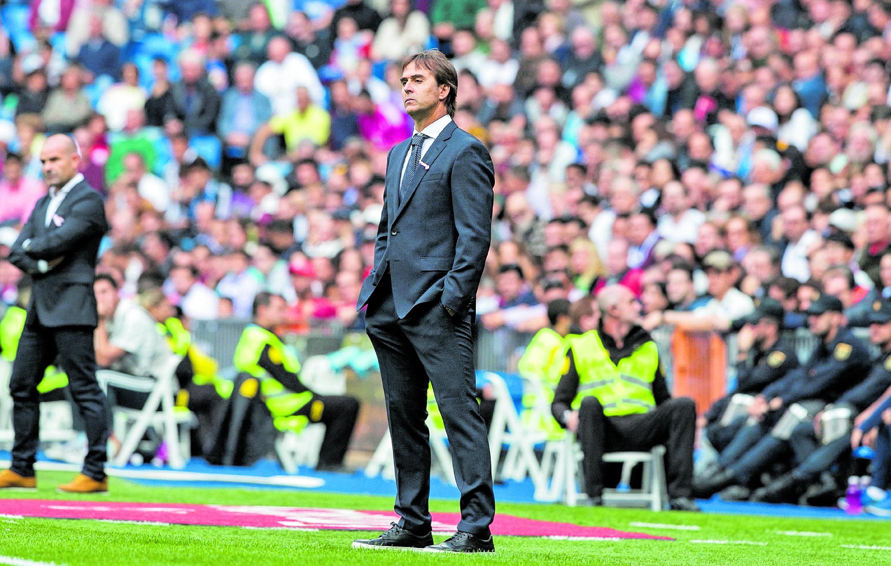 Julen Lopetegui, exentrenador de la Selección de España y Real Madrid. (Foto Prensa Libre: Hemeroteca PL)