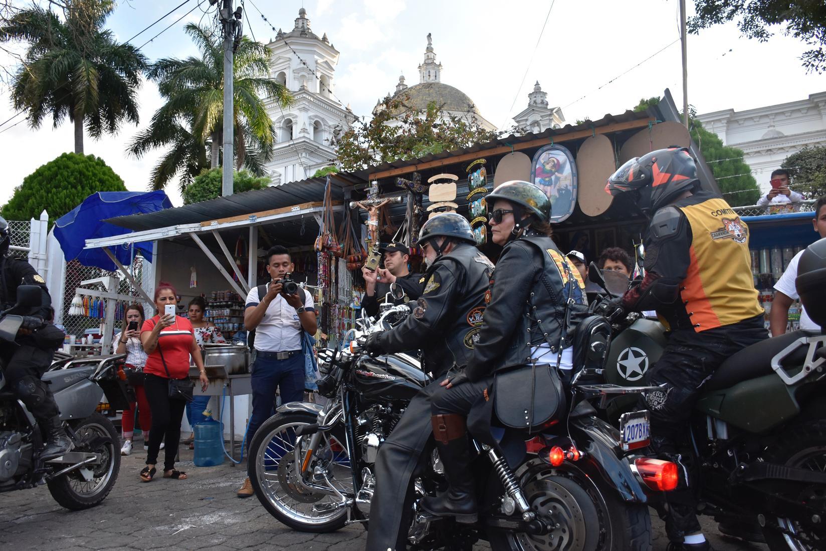 Eddy Villadeleón llega a Esqupulas. (Foto Prensa Libre: Mario Morales)