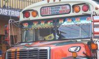 Esta es la ruta que cubre el bus atacado ayer por la tarde en Xela. (Foto Prensa Libre: María Longo)
