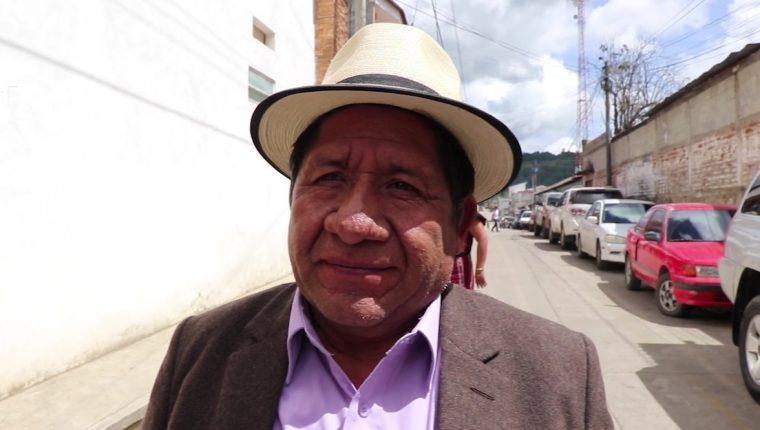 Pedro Raymundo Cobo, alcalde de Nebaj, a quien el MP pidió el retiro de la inmunidad, (Foto: Prensa Libre: Hemeroteca PL)