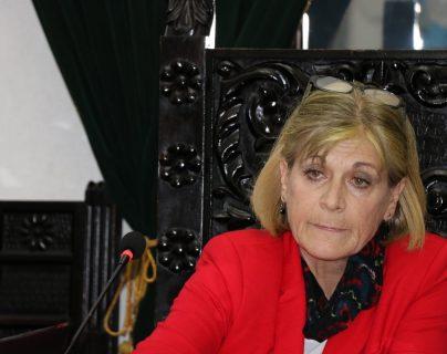 Susana Asencio, alcaldesa de Antigua Guatemala. (Foto Prensa Libre: Hemeroteca PL)