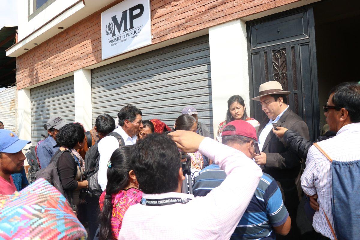 Diputado denuncia a empresas mineras del Valle de Palajunoj en Quetzaltenango