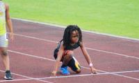 Con tan solo siete años Rudolph Ingram ha demostrado que tiene un gran potencial en el atletismo. (Foto Prensa Libre: Instagram @blaze_813)