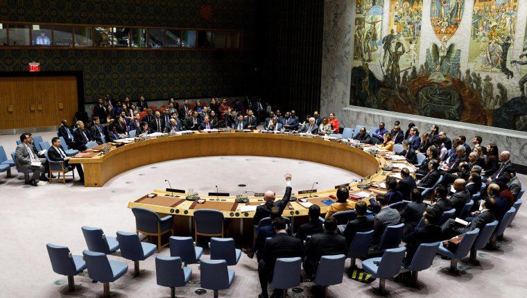 ONU no logra consenso en posturas sobre Venezuela en reunión de Nueva York. (Foto Prensa Libre: EFE)