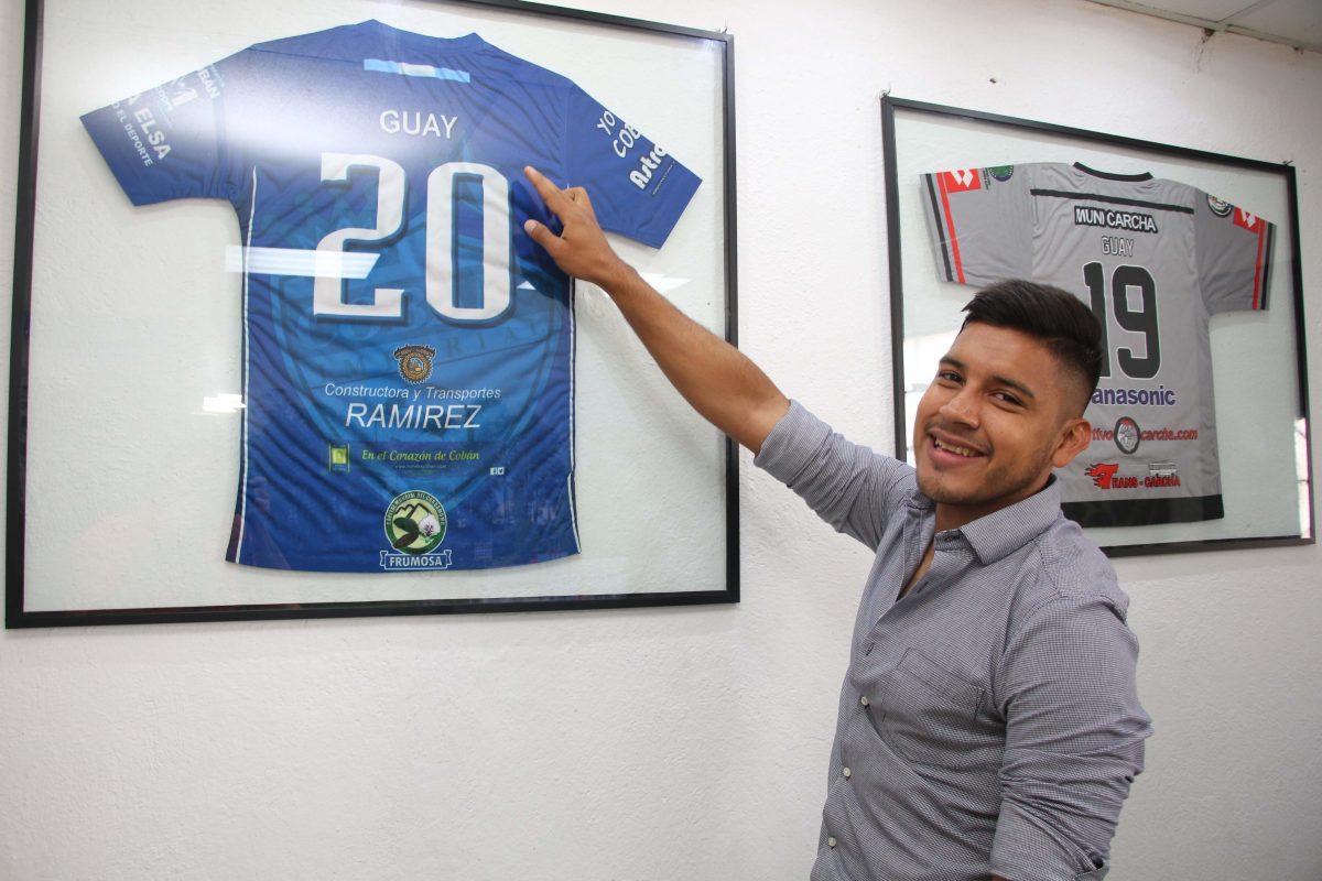 Víctor Guay sueña con ganar el Torneo de Copa con Cobán Imperial