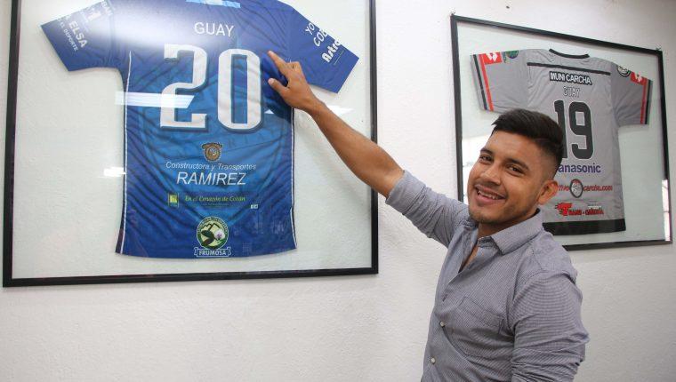 Víctor Guay vive un buen momento en Cobán Imperial. (Foto Prensa Libre: Eduardo Sam)