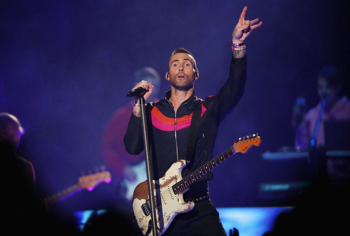 Maroon 5 no fue tan esperado como Bob Esponja en el medio tiempo del Super Bowl