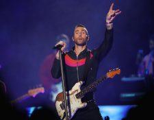 La agrupación estadounidense Maroon 5 se presentó en el medio tiempo del Super Bowl. (Foto Prensa Libre, AFP)