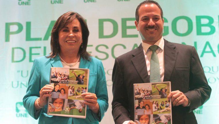 Mario Leal Castillo, vicepresidenciable de la UNE de 2015, es prófugo de la justicia. (Foto Prensa Libre: Hemeroteca PL)