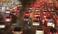 En la ciudad de Guatemala circulan 1.5 millones de vehículos. (Foto Prensa Libre: Hemeroteca PL).