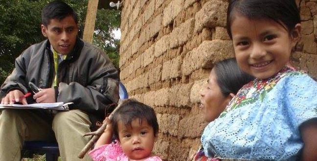 Las poblaciones indígenas se incluyen en la construcción de sus planes para el desarrollo.(Foto Prensa Libre: Usaid)