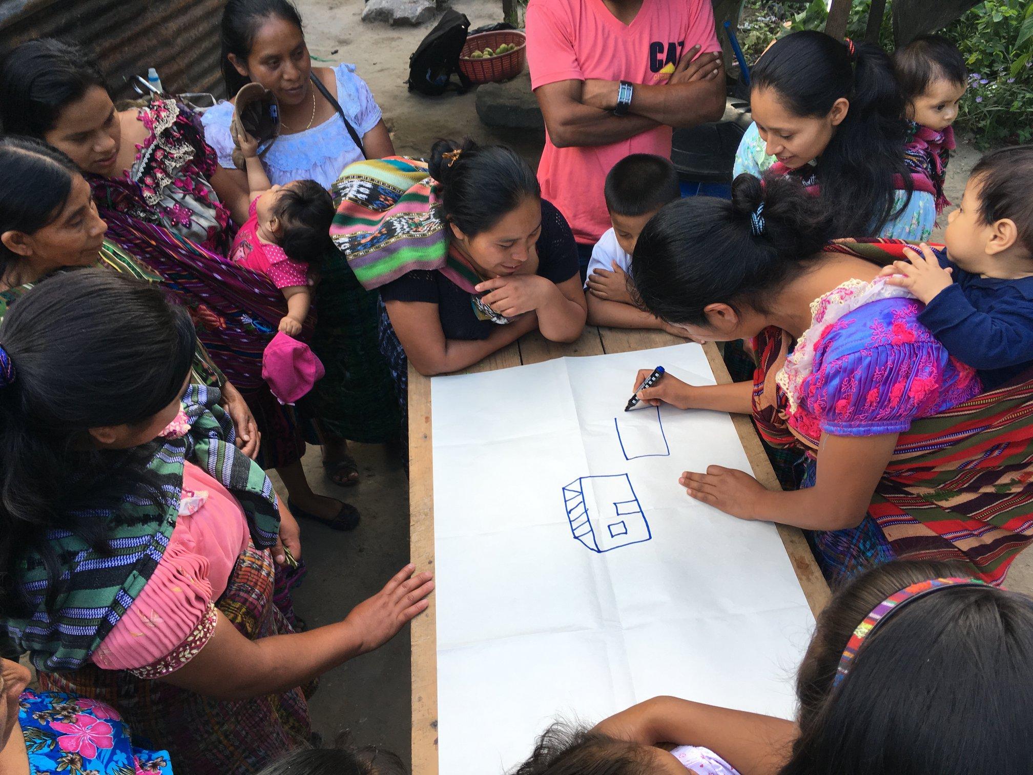 Los conocimientos de la población indígena serán utilizados para la elaboración de nuevos proyectos de Usaid. (Foto Prensa Libre: Usaid)