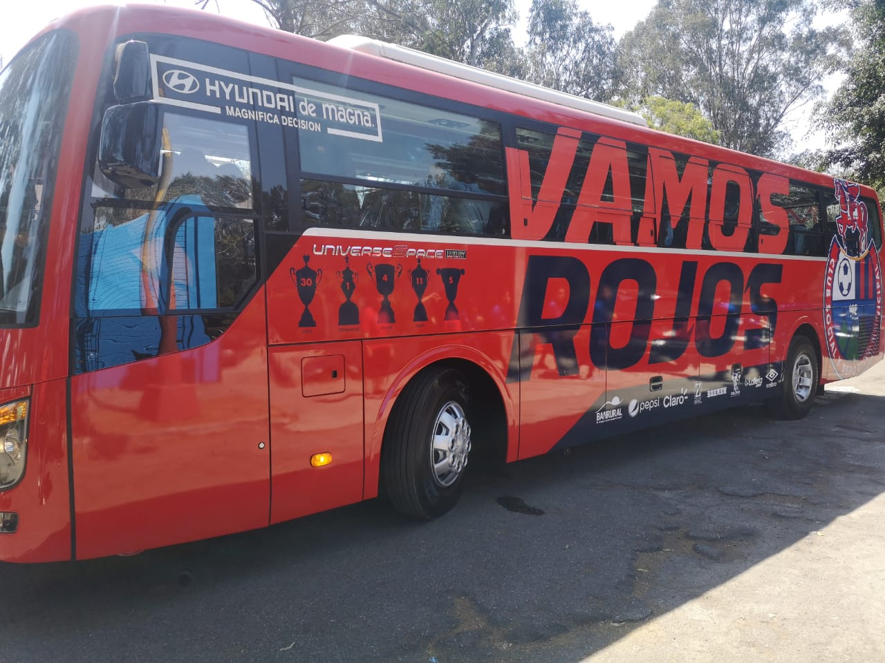 Así luce el nuevo autobús de Municipal. (Foto Prensa Libre: La Red)