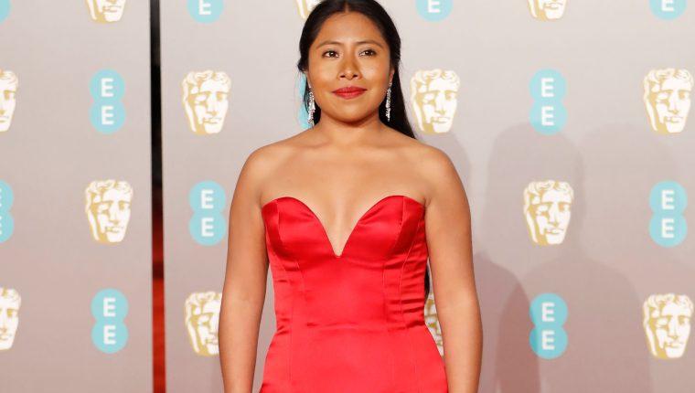 La actriz mexicana Yalitza Aparicio acudirá este 24 de febrero a la ceremonia de los Premios Óscar. (Foto Prensa Libre: AFP).