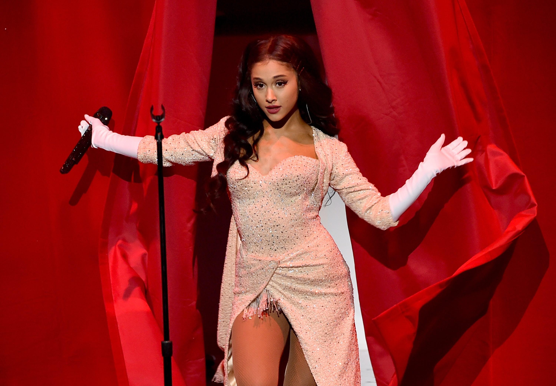 """Ariana Grande es conocida como princesa del pop y obtuvo un Grammy por su álbum """"Sweetener"""". (Foto Prensa Libre: Hemeroteca PL)"""