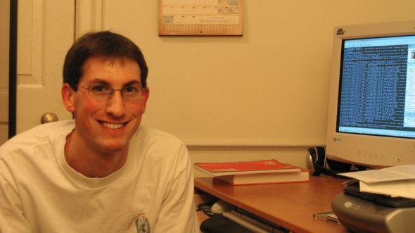 """Aaron Greenspan fue compañero de Mark Zuckerberg en Harvard. """"Éramos amigos"""", le dice a BBC Mundo. AARON GREENSPAN"""