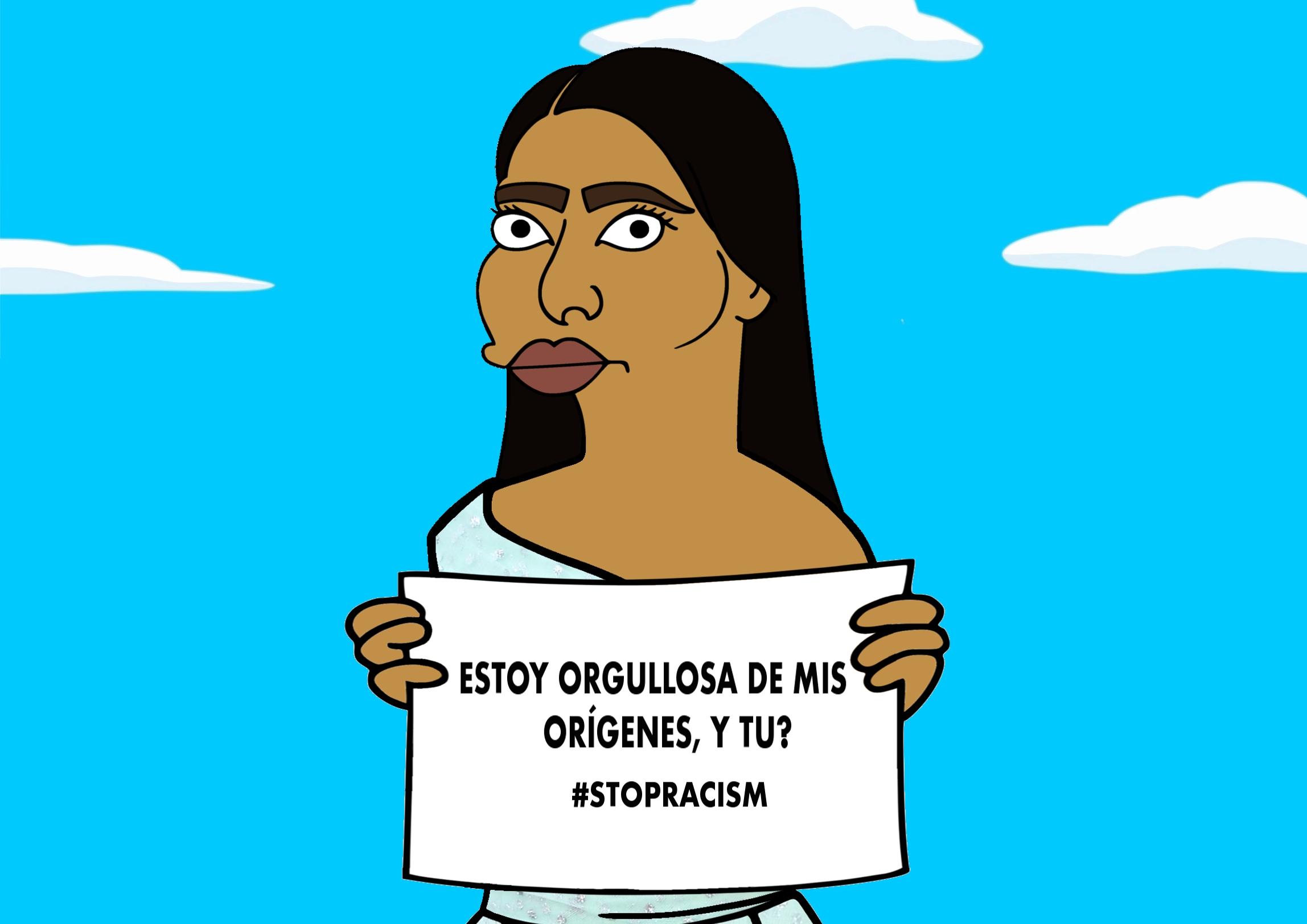 Yalitza Aparicio ha sido objeto de comentarios racistas y esta campaña busca criticar eso (Foto Prensa Libre: Alexsandro Palombo).