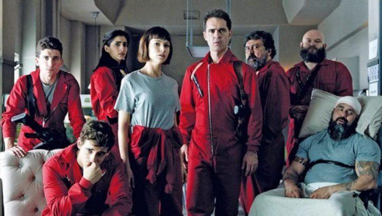 El regreso de La casa de papel está cada vez más cerca (Foto Prensa Libre: Netflix).