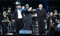 Mario Chang y Plácido Domingo