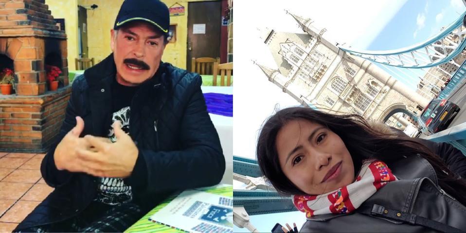 Sergio Goyri fue captado mientras hablaba despectivamente de Yalitza Aparicio (Foto Prensa Libre: Instagram).