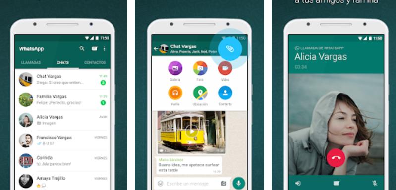 WhatsApp ha incorporado una variedad de funciones a lo largo de sus 10 años de historia (Foto Prensa Libre: Play Store).
