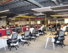 Nuevo Centro Ágil del Banco G&T Continental albergará a más de mil colaboradores. (Foto Prensa Libre: Cortesía)