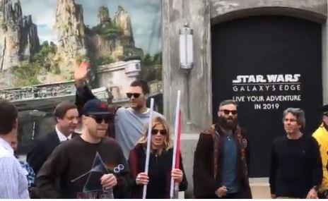 Tom Brady y Julian Edelman disfrutaron del ambiente de celebración en Disney World. (Foto Cortesía).