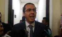 Felipe Alejos, primer vicepresidente del Congreso y secretario general del Partido Todos. (Foto Prensa Libre: Carlos Álvarez)