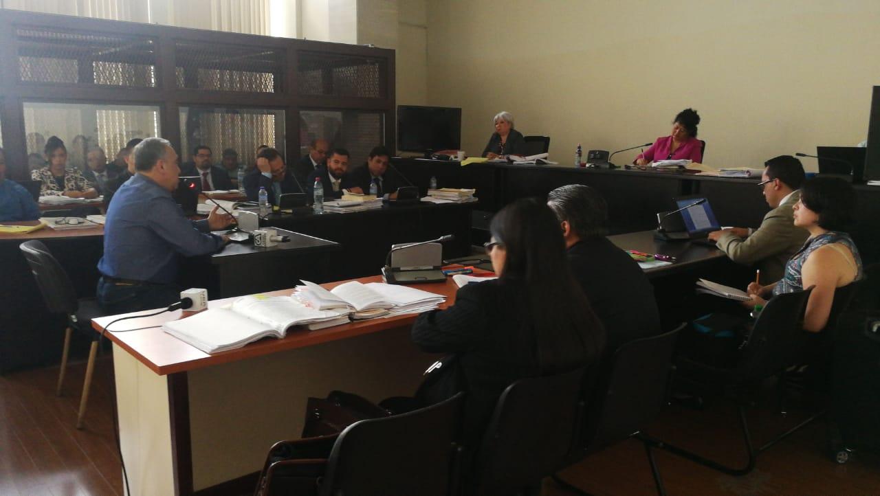 El exdiputado Jaime Antonio Martínez Lohaiza se defendió de la acusación en el caso Lavado y Política. (Foto Prensa Libre: Érick Ávila)