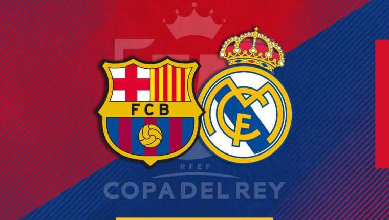 El Barcelona y Real Madrid jugarán por el pase a la final. (Foto Prensa Libre: Twitter FC Barcelona)