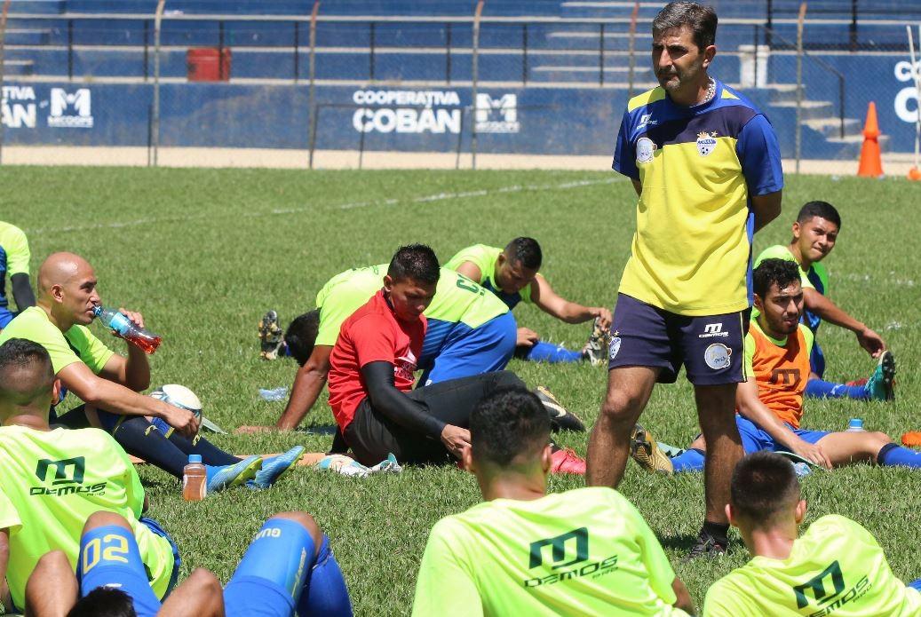 El equipo cobanero enfrentará de visita a Siquinalá en la novena fecha del Clausura 2019. (Foto Prensa Libre: Eduardo Sam).
