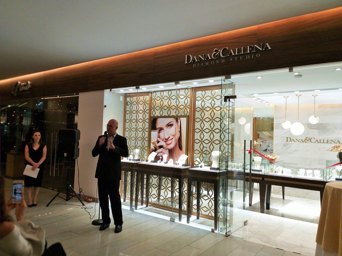 """Dana&Callena """"Diamond Studio"""" abrió en Plaza Etú"""