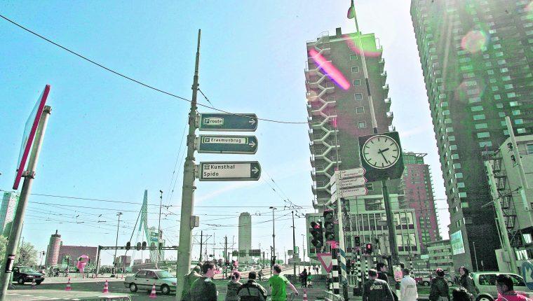 Calles de la ciudad, Puerto de Rotterdam,  Holanda, donde un tribunal autorizó las pruebas de ADN. (Foto Prensa Libre: Hemeroteca PL)