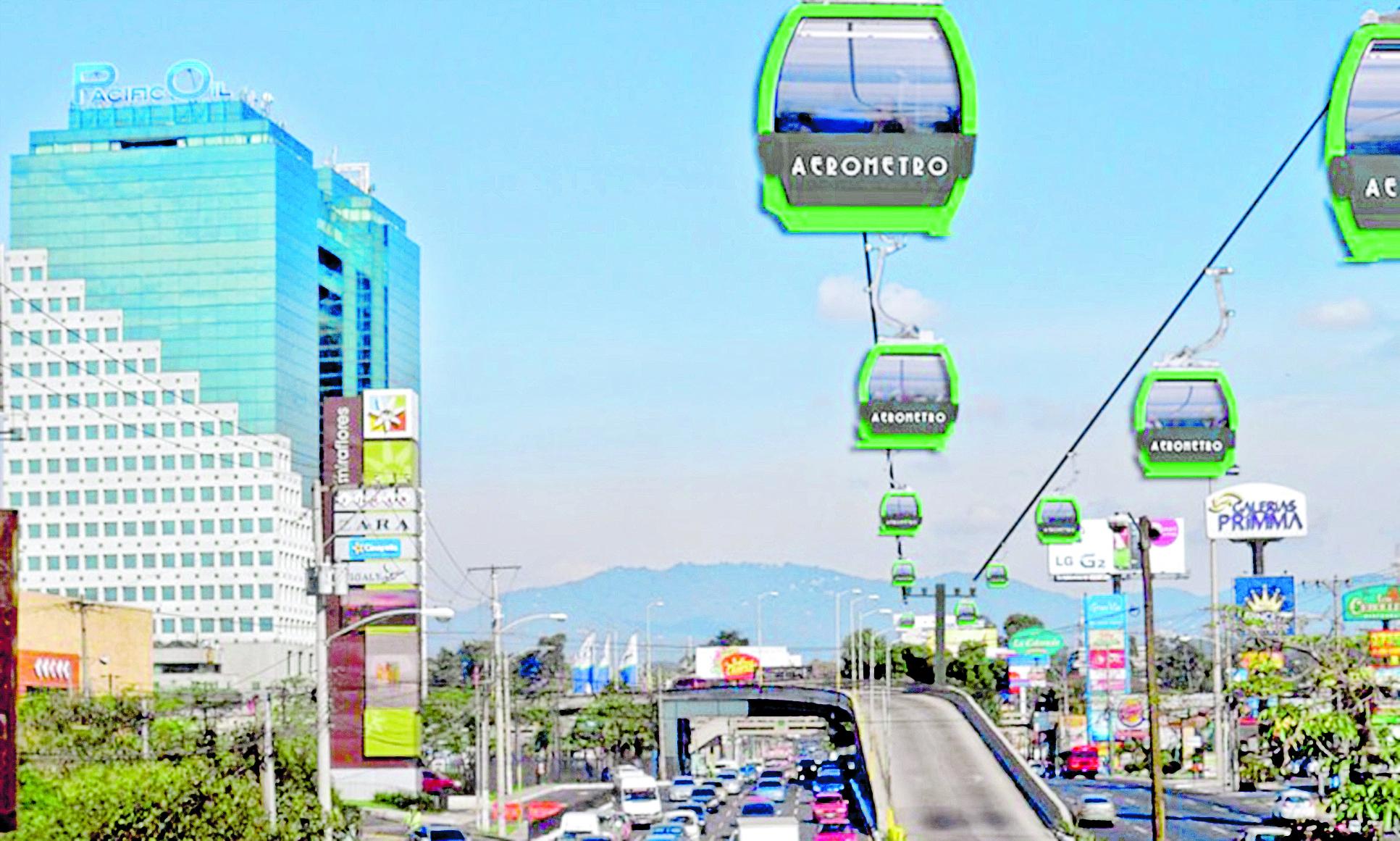 Así quedaría el Aerometro según la comuna capitalina.(Foto Prensa Libre: cortesía)