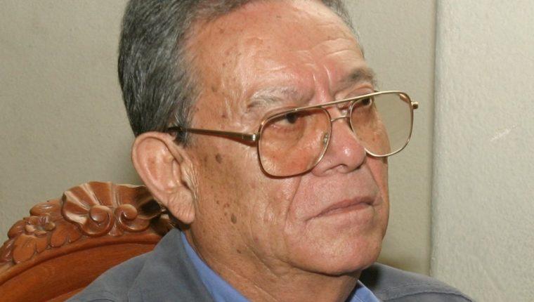 El expresidente del Colegio de Abogados y ex magistrado de la CC Mynor Pinto, quien falleció a sus 89 años (Foto Prensa Libre: Hemeroteca PL).
