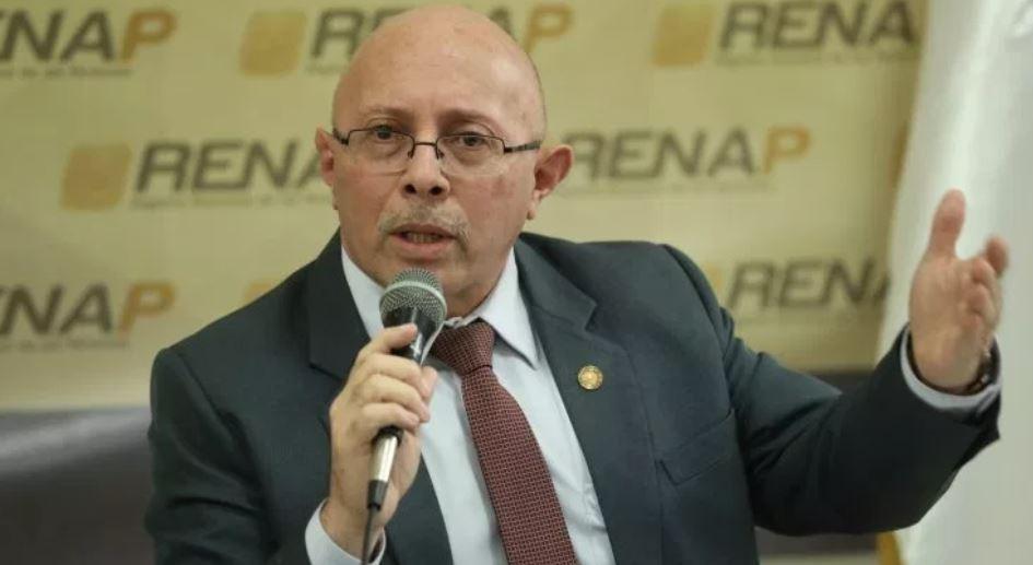 Enrique Alonzo, exdirector Ejecutivo del Registro Nacional de Personas (Renap).