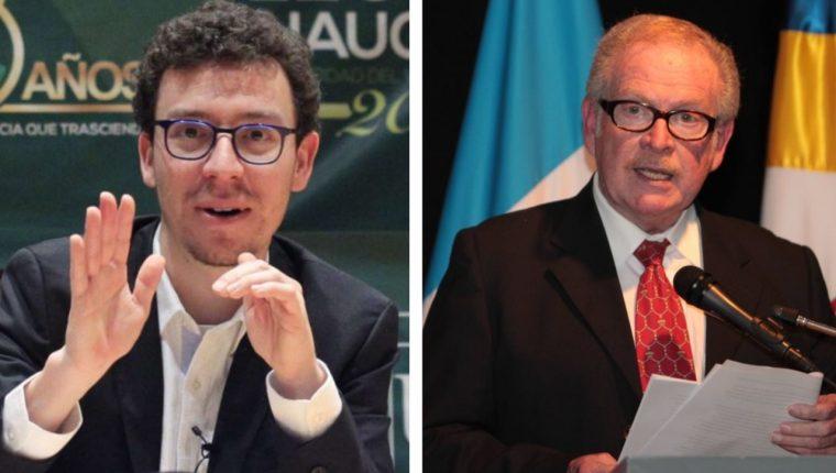 Los guatemaltecos Luis von Ahn y Mario Alberto Carrera consideran que el fomento de la ciencia es importante para todo país. (Foto Prensa Libre: Hemeroteca PL)
