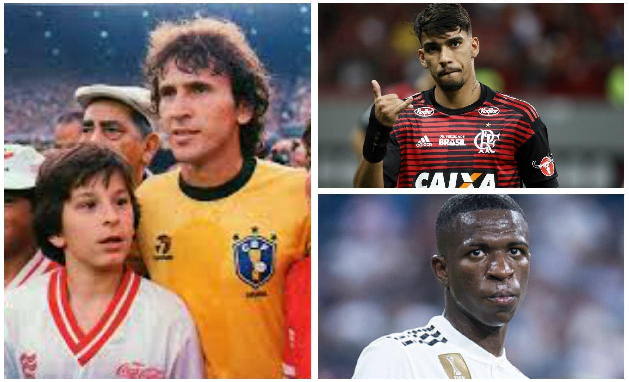 Zico, Lucas Paquetá y Vinicius son algunas de las figuras del equipo a lo largo de la historia. (Foto Redes).