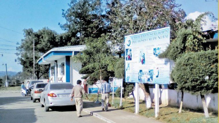 Hospital Nacional de Nebaj. (Foto Prensa Libre: Héctor Cordero)
