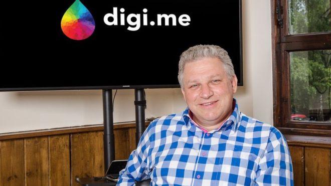 El fundador de Digi.me, Julian Ranger, cree que tenemos que compartir más datos en internet pero de forma controlada (DIGI.ME)