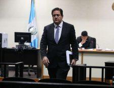 Gustavo Alejos enfrenta cuatro casos, Transurbano, Financiamiento a UNE, Negociantes de la salud y Cooptación del Estado. (Foto Prensa Libre: Hemeroteca PL)