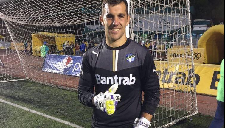 Javier Irazún, portero crema, confía en que el equipo salga del bache en el  que se encuentra. (Foto Hemeroteca PL).