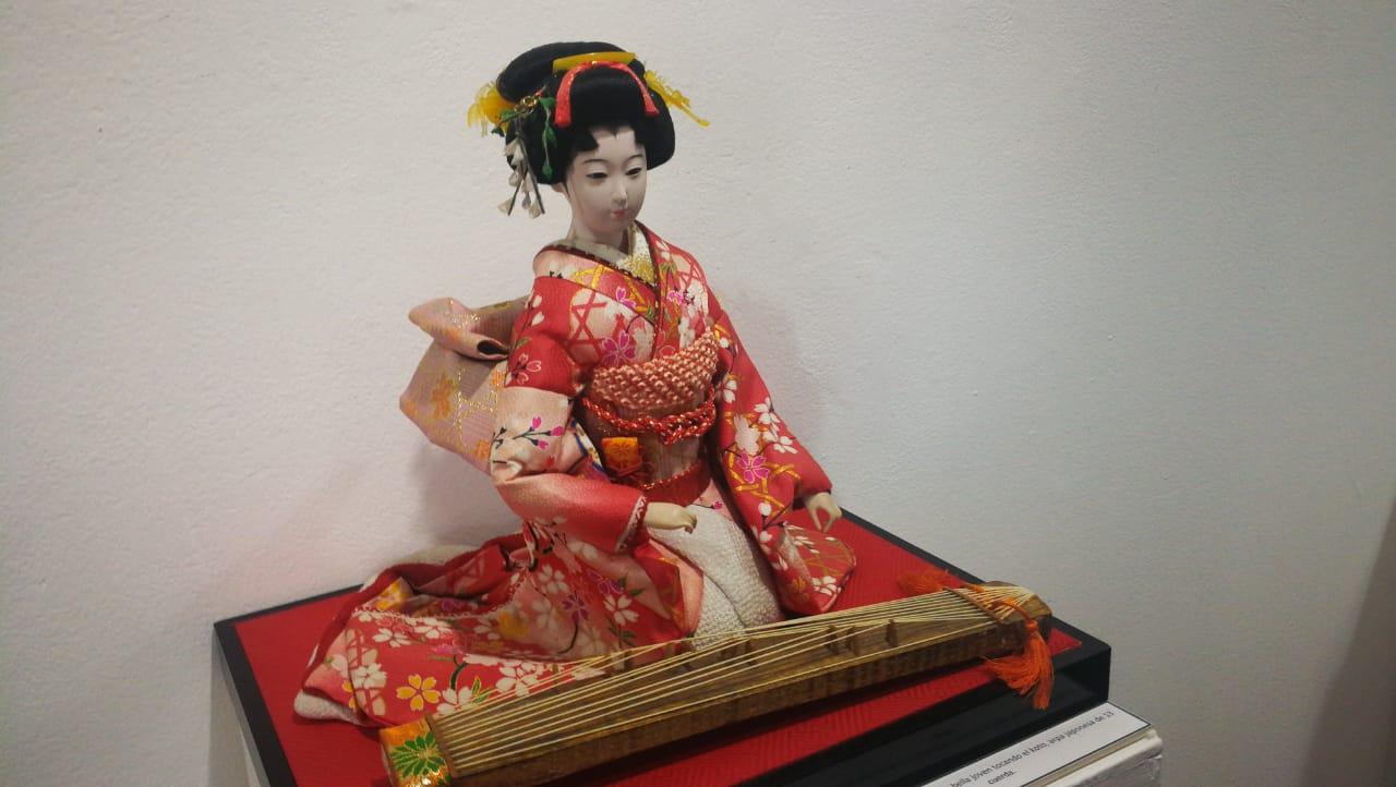 Muñecas japonesas en el Museo Nacional de Arte Moderno