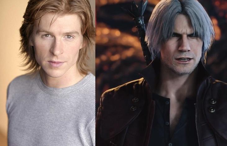 """Reuben Langdon presta su voz al personaje Dante en la saga de videojuegos """"Devil May Cry"""". (Foto Prensa Libre: Cortesía)"""