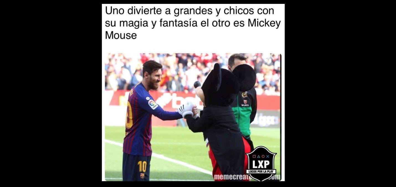 Lionel Messi fue la gran figura del Barcelona, otra vez. (Foto Prensa Libre: Twitter)